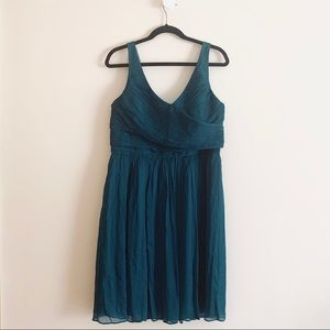 J. Crew Silk Chiffon Cocktail Party Prom Dress
